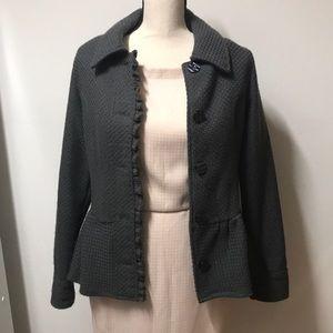 Super cute péplum jacket from Decree sz S/CH